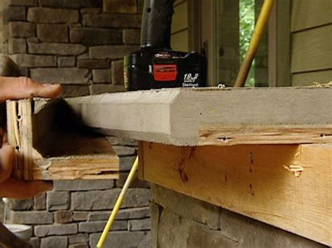 how to make an outdoor concrete countertop best 25 concrete countertop forms ideas on