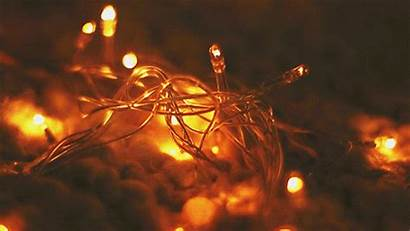 Lights String Led Copper Wire Luces Giphy