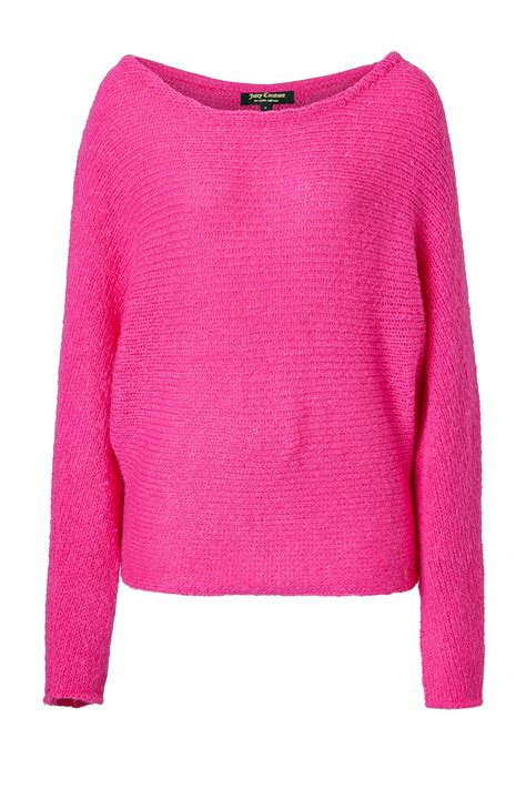 oversized pink sweater couture oversized fluffy sweater in pink lyst