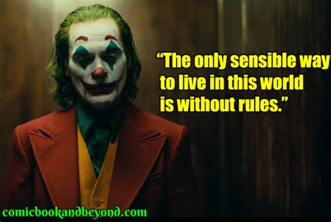 joker quotes explain   maniacal antagonist