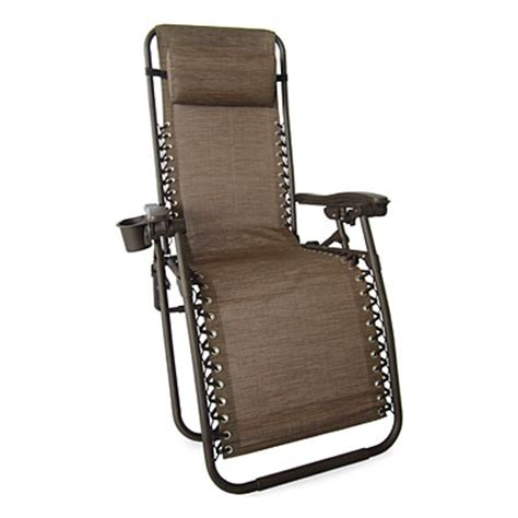 wilson fisher 174 brown basic zero gravity chair big lots