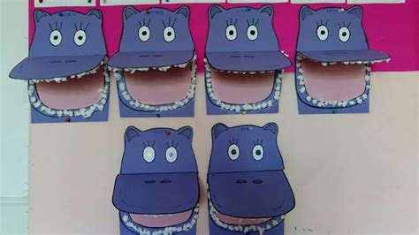 hippo crafts  kids funny crafts