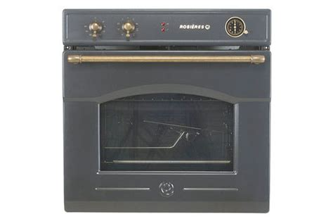 cuisine encastrable four encastrable rosieres rft 5577 av anthracite