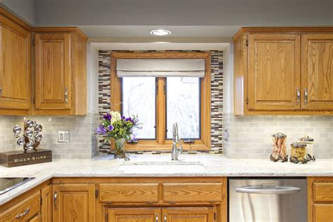 kitchen paint ideas oak cabinets fantastic painting oak cabinets before and after