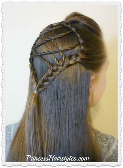 Dream Catcher Hair Braided Easter Hairstyles Tutorial