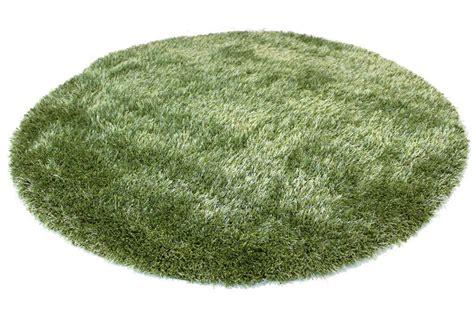tapis rond vert spectrum trendcarpetfr