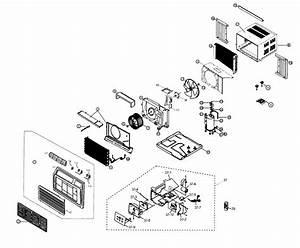 Samsung Aw15ecb7xaa Room Air Conditioner Parts