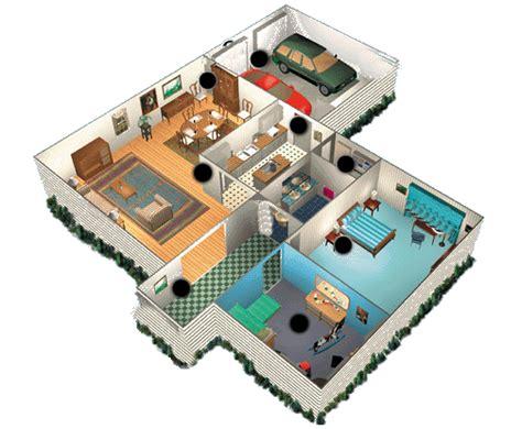 3 bedroom duplex floor plan de maison 3d avec 2 chambres et garage plans maisons