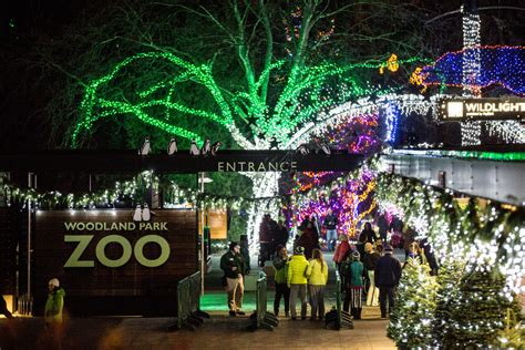 top 10 reasons to visit wildlights woodland park zoo