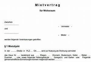 word vorlage mietvertrag wohnung download freewarede With mietvertrag möblierte wohnung kostenlos download