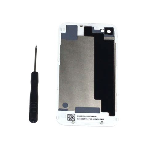 battery for iphone 4s new battery back cover door replacement for iphone 4s gift