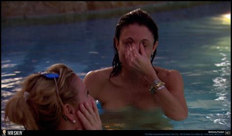 Naked Bethenny Frankel In The Real Housewives Of New York City