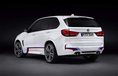Bmw M Performance Accessories Announced For X5 M & X6 M
