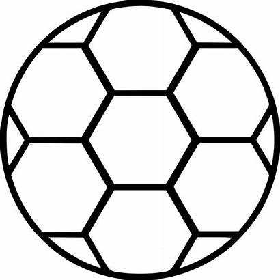 Soccer Ball Football Icon Svg Sports Sport