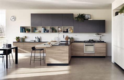 cuisine contemporaine en bois cuisine en bois moderne et sobre