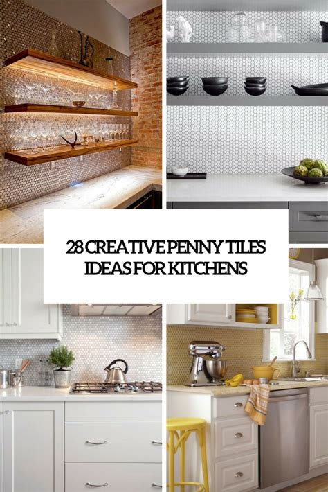 creative ideas for kitchen 28 creative tiles ideas for kitchens digsdigs