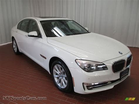 2013 Bmw 7 Series 740i Sedan In Alpine White 994992