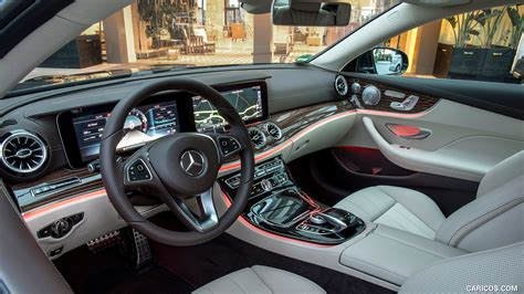 In combination with the standard exterior and interior specification, it comprises a chrome louvre below the front bumper, a badge on the front. 2018 Mercedes-Benz E400 Coupe 4MATIC - Interior | HD Wallpaper #214