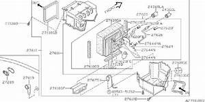 Nissan Altima A  C Evaporator Drain  Con  Air  Cooling