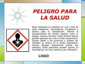 Pictogramas de seguridad for Peligros para la salud con el uso de
