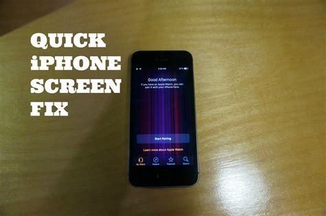 what to do if your iphone screen turns black fix iphone with purple vertical bars