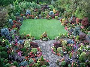 Beautiful english garden for Beautiful garden plan