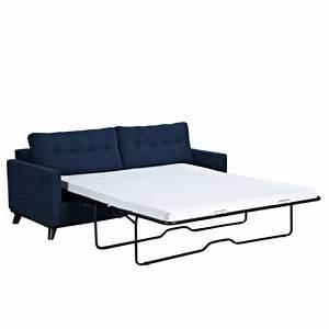 Canapé Trois Places Convertible : canap lit deux personnes en tissu sofa lit trois places ~ Dode.kayakingforconservation.com Idées de Décoration