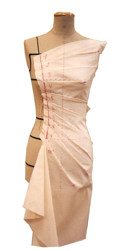 Draping Patterns - 63 best images about draping on the stand on