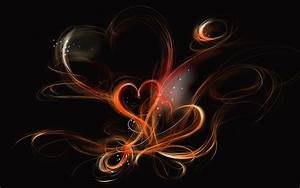 Abstract Paintings Of Love Background Wallpaper | I HD Images
