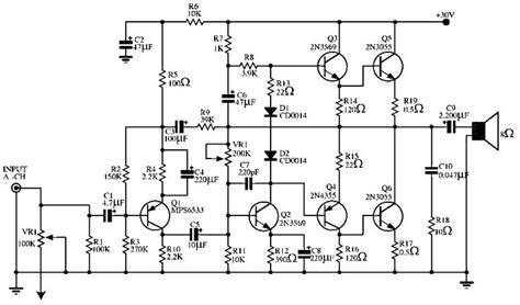 audio power lifier circuit 140 w elektronıl elektronik teknoloji och elektrik