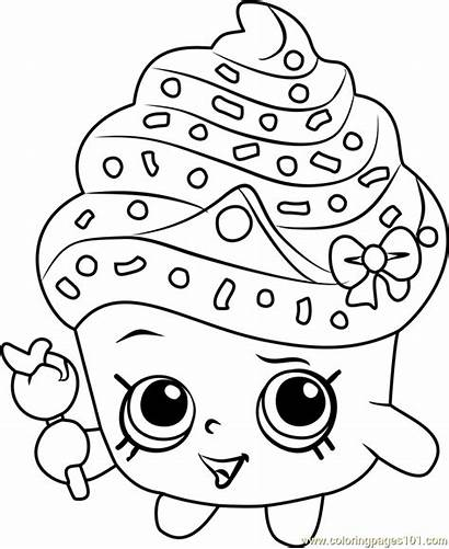 Coloring Pages Shopkins Pdf Childrens Evening Library