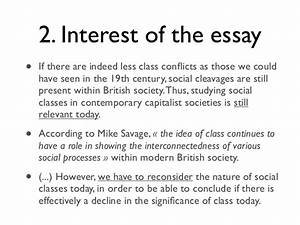 Social Class Essays Example For Thesis Statement How Does Social  Impact Of Social Class On Education Essay Essay On Hard Work