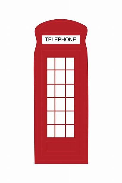 Telephone London Clipart British Silhouette Clip Photobooth