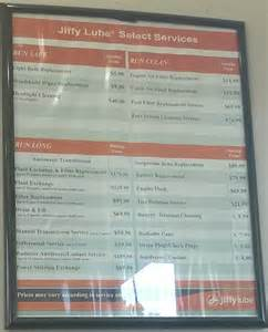 Images of Jiffy Lube Oil Change Price