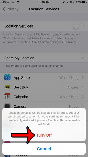 location services iphone 6 how to turn location services on an iphone 6 solve