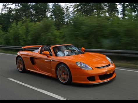 2007 Techart Porsche Carrera Gt Side Angle Speed