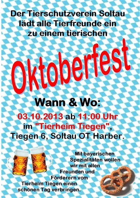 einladung oktoberfest tierschutzverein soltau