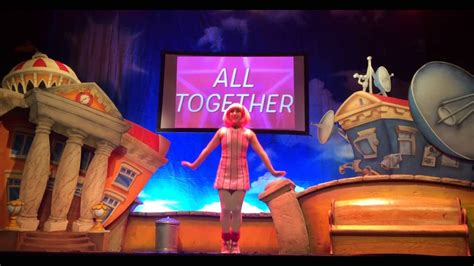Lazytown Live, Marina Theatre, Lowestoft, 2016 - YouTube