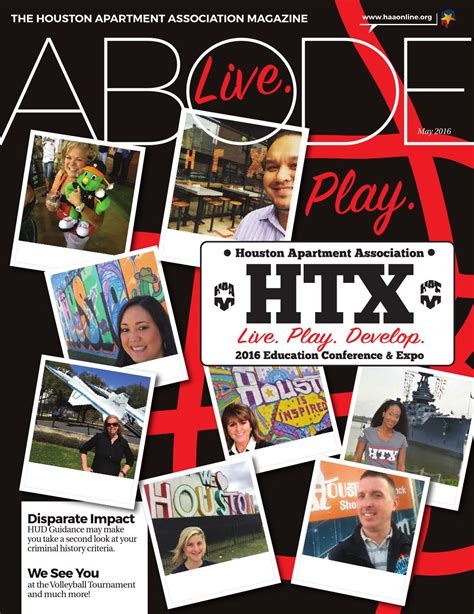 Houston Apartment Association Expo by Abode May 2016 By Haa Publishing Issuu