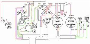 Wiring Harness For Dash  Mga 1600