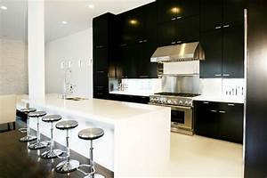 black and white kitchen contemporary kitchen marie With kitchen colors with white cabinets with university of maryland wall art