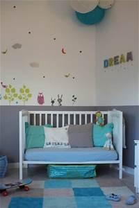 Chambre Garcon Bleu Et Gris : conseil couleurs dans chambres d 39 enfants ~ Dode.kayakingforconservation.com Idées de Décoration