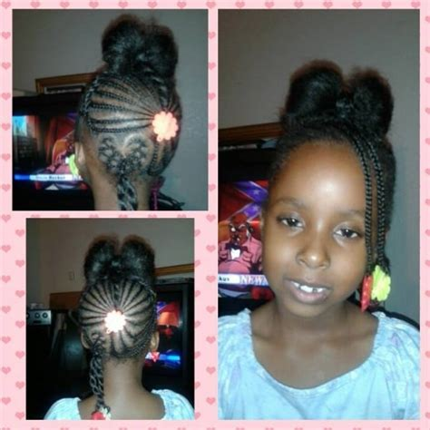 hairstyles for 6 year old black girl 6 year old cavaughn cute hair bow style black hair