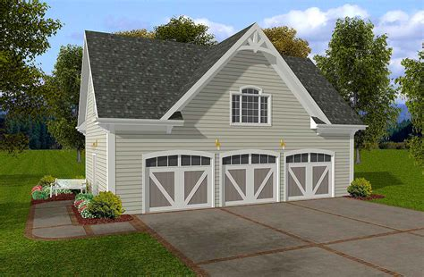 siding  car garage  storage  ga architectural designs house plans