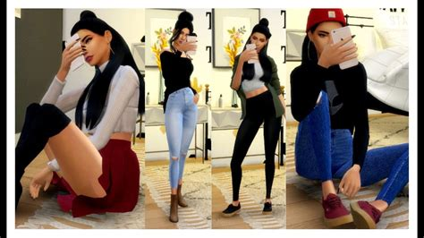 sims  outfits   week fall outfit ideas
