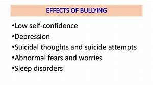 English Essay Sample Effects Of Bullying Cause And Effect Essay Essay On Science And Technology also How To Write A Thesis Essay Effects Of Bullying Essay Essay Generation Gap Effects Of Bullying  Example Of An English Essay