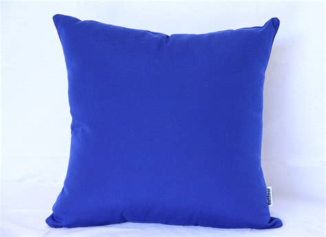 cobalt blue outdoor interiors outdoor cushions sunbrella