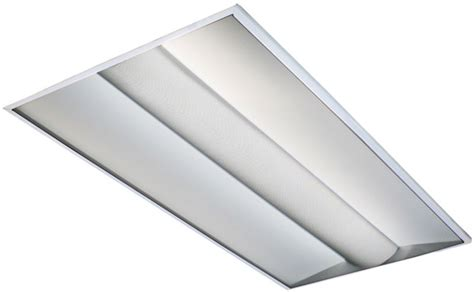 2x4 Fluorescent Light Fixture by 2x4 Direct Indirect Lay In Troffer 3 Lamp T8 Fluorescent