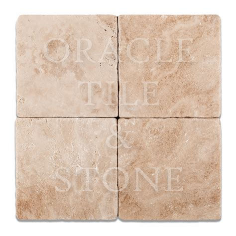 6 x 6 tile andean vanilla travertine 6 x 6 field tile oracle tile stone