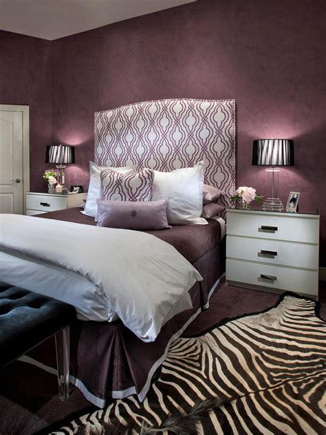 chambre to chambre gris aubergine design de maison